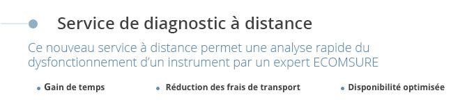 Service de diagnostic à distance